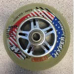 Hyper HYPERformance Stripe 83A 80mm 688 Micro Bearing Combo Inline Road Speed Wheels (Closeout)