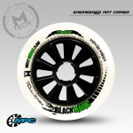 MPC Black Magic Inline Speed Wheels XFirm 90mm