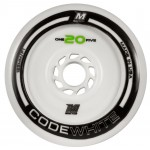 Matter Code White Inline Speed Wheels 125mm F1