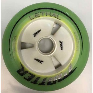 Matter LETHAL Inline Speed Wheels F2 Yellow 100mm, 110mm, 125mm (2018)