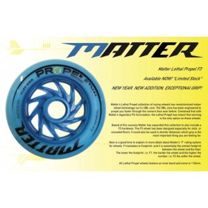 Matter Propel Lethal F3 Inline Speed Wheels 2019