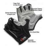 eZeefit Bike/Cycling Gloves Black