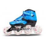 Bont Alpha Inline Speed Skate Blue 3-Point