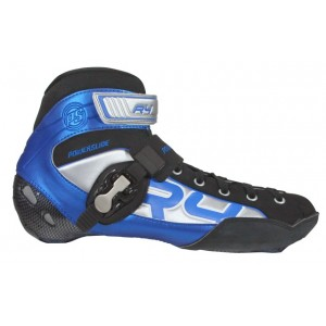 Powerslide R4 Inline Speed Boots Blue/Silver (Close Out Sale)
