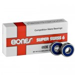 Bones Super Swiss 6-Ball Speed Skate Bearings