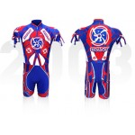 Bont Inline Skate Skinsuit Team International Blue/Red XL, XXL