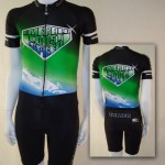 Emerald Coast Speed Inline Skate Skinsuit S, XL