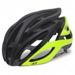 Giro Atmos Helmet Matte Black/Highlight Yellow - Large - Closeout