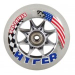 Hyper Stripe Inline Speed Wheels 100mm - (Closeout)