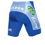 Hyper Inline Skating Shorts Blue/Silver Youth Large