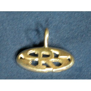 Simmons Racing Boots Pendant Cut Out Logo