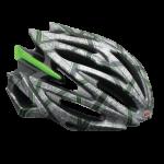 Bell Volt Helmet Silver/Green Rocker - Medium, Large - Closeout