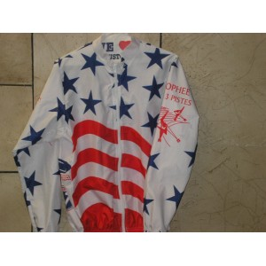 USA Speed Skating 1999 World Tour Inline Speed Skating Jacket - Small, Medium