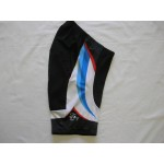 Inline Skating Shorts Black/White/Blue Small